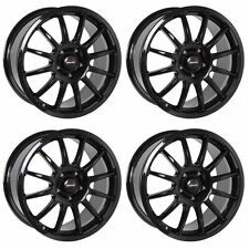 4 x Team Dynamics Pro Race Nero Lucido 1.3 CERCHI IN LEGA - 5x108 | 19x8.5"