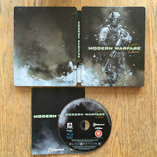 Call Of Duty Modern Warfare 2-Steelbook Edition-Playstation 3 / Ps3-Usado