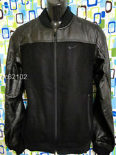 NIKE BASKETBALL 433957 VARSITY WOOL LEATHER DESTROYER JACKET, size M, $500