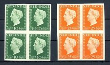 NED INDIE 1948 # 345/46  IMPERF PROOF 4 x -CERTIFICAAT-NO GUM AS ISD MOST VF @3