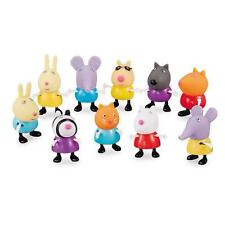10 Pcs Set Peppa Pig Friends Action Figures Peppa Friends Kids Gift Toy Boxed