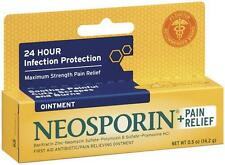 Neosporin Pain Relief Ointment 0.5 oz : 3packs