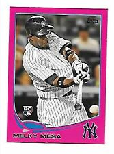 MELKY MESA   2013 TOPPS MINI PINK #231   SERIAL #16/25   NEW YORK YANKEES