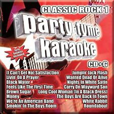 PARTY TYME KARAOKE CD - CLASSIC ROCK VOL.1 (2016) - NEW UNOPENED