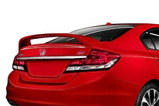 2013-2015 Honda Civic 4 Door Sedan Painted SI Style Rear Spoiler Wing BRAND NEW