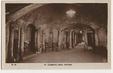 Hastings, St. Clements Caves no.32 RP Postcard, B184