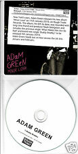 ADAM GREEN Minor Love 2010 UK 14-trk promo CD + bonus Buddy Bradley promo CD