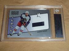02-03 BAP Ultimate Memorabilia RICK NASH RC Game Used Jersey 42/50