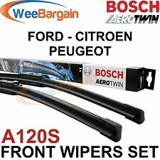 NEW Genuine BOSCH Aerotwin Front Wiper Blades Set A120S 750mm/30'' + 650mm/26''