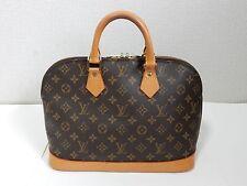 Auth Louis Vuitton Monogram Browns Alma Bag Purse SD0975 GH FS Pre-Owned