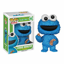 Sesame Street FUNKO POP! Vinyl Figurine COOKIE MONSTER 9 cm