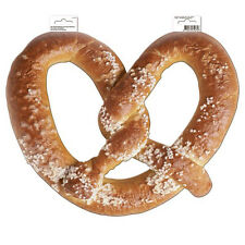3 x OKTOBERFEST HANGING PRETZEL CARD PARTY DECORATION