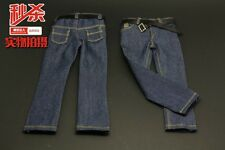 "1:6 Scale Male Jeans Pants Trousers Clothes For 12"" Man Action Figure Body Toy"