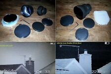 Pulsar N550 to N970 Scope = Special IR Plus Lens Doubler Conversion Kit 9x mag