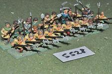 25mm medieval halberdiers 20 infantry (5528) metal painted