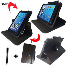 7 zoll Tablet Tasche -  blackberry playbook Hülle Etui - 360° Braun 7