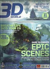 3D WORLD,  JUNE, 2012  ( MAYA + Z BRUSH + BLENDER + CINEMA 4D + 3dS MAX )