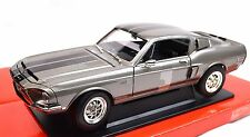 FORD SHELBY MUSTANG GT-500KR 1968 92168 1:18 NEW LUCKY ROAD SIGNATURE GRAPHITE