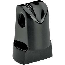 Headwinds Black 1-1/4 Vertical Offset 1-1/4 Base Mounting Post for Harley