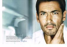 PUBLICITE ADVERTISING 094  2008  RESTYLANE   cosmétiques homme  (2p)