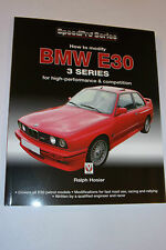 How to Modify BMW E30 3-SERIES FOR High Performance & Competition Manual