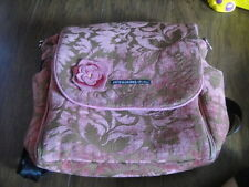 PETUNIA PICKLEBOTTOM PINK FLORAL FOND OF FLORA DIAPER BAG