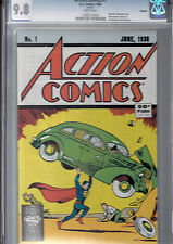 ACTION COMICS #1  (1988 reprint, DC ) CGC 9.8   Actions Comics#1 Superman story