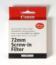 Canon 72mm UV Filtro