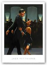 RETRO ART PRINT Rumba in Black Jack Vettriano