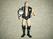 STONE COLD STEVE AUSTIN DELUXE CLASSIC BELT JACKET RARE WRESTLING FIGURE WWE WCW