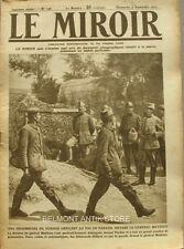 Le miroir n°198 -1917-  Chauny-Bléraucourt-dessin de henri Farré-général mathieu