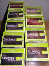 L'OREAL EXCELLENCE TO GO 10 MINUTE CREME COLORANT HAIR COLOR **CHOOSE COLOR**
