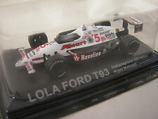 1/43 LOLA FORD T93 Indianapolis 500 miles Nigel Mansell