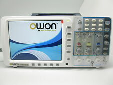 "Newest low noise OWON 100Mhz Oscilloscope SDS7102V 1G 8"" VGA+battery+bag UK ship"
