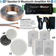 Inalámbrico/bluetooth Amplificador Subwoofer Altavoz Y 7x conjunto – Hi-Fi sistema de audio doméstico