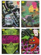 Space Riders Issue 1-4 Complete Set psychedelic Alexis Ziritt Black Mask Comics