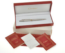 Cartier 1992 Cougar platinum ballpoint pen new pristine in box