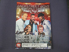 "BACKSTREET BOYS ""IN A WORLD LIKE THIS JAPAN TOUR 2013"" JAPAN 2-DVD *SEALED*"