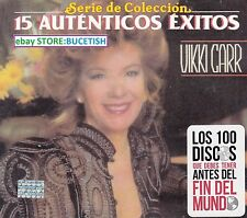 Vikki Carr 15 Autenticos Exitos CD Caja de carton
