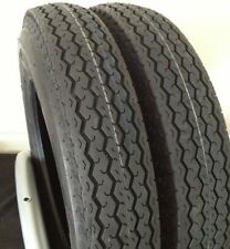 (2) 4.80-12 6 PLY TRAILER TIRES TWO TIRE PAIR 48012 480-12 4.80X12