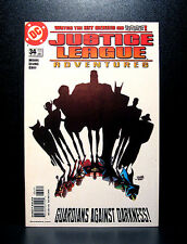 COMICS: DC: Justice League Adventures #34 (2004), final issue - RARE (batman)