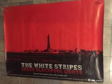 The White Stripes Blackpool Lights, Rare promo poster From 2004 - Rob Jones