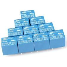 10 PCS High Quality 5 Pins RELAY 12V DC Coil Power Relay PCB   SRD-12VDC-SL-C