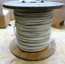 General Cable Wire 12 Gauge Covered Copper 7 Stranded White , 600V , Apx 500'