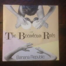 The Boomtown Rats Banana republic / Man at The Top Excellent Cond