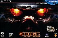 Killzone 3: Helghast Edition Sony Playstation 3 limited PS3 collectors NEW