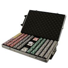 New 1000 Ultimate 14g Clay Poker Chips Set with Rolling Case - Pick Chips!
