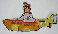 """BEATLES- Yellow Submarine - Embroidered Iron-On Patch - 5"""""""