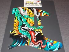 "Fender Telecaster Pick Guard- 2124 Customs ""Dragon"""