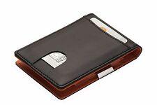 Geldbörse mit GELDKLAMMER für Herren: Kreditkartenetui mit Geldclip, Geldbeutel